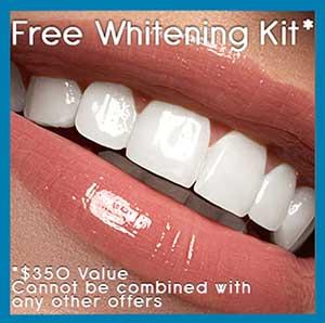 Free Whitening Kit